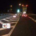 高規格道路の須崎東から四万十中央までの工事も本日が最終日です。
