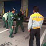交通誘導警備業務検定。