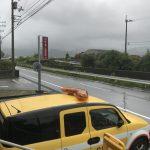 台風7号接近中です。